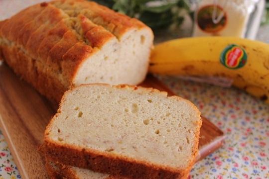 お から バナナ ケーキ